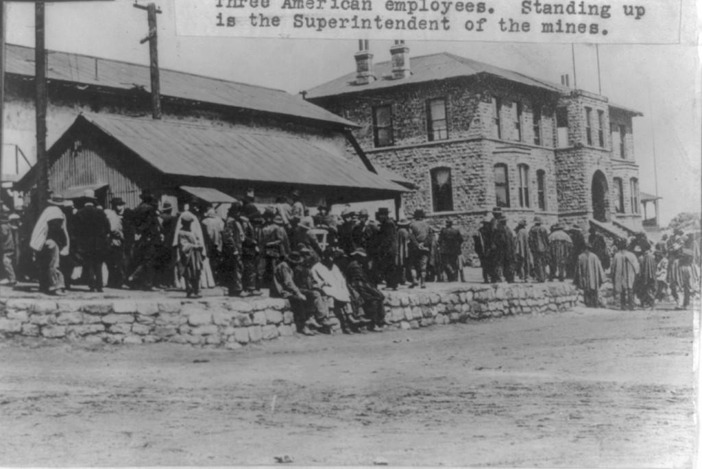 Rudari koje isplaćuju - 1914 (Peru) - Kongresna biblioteka USA