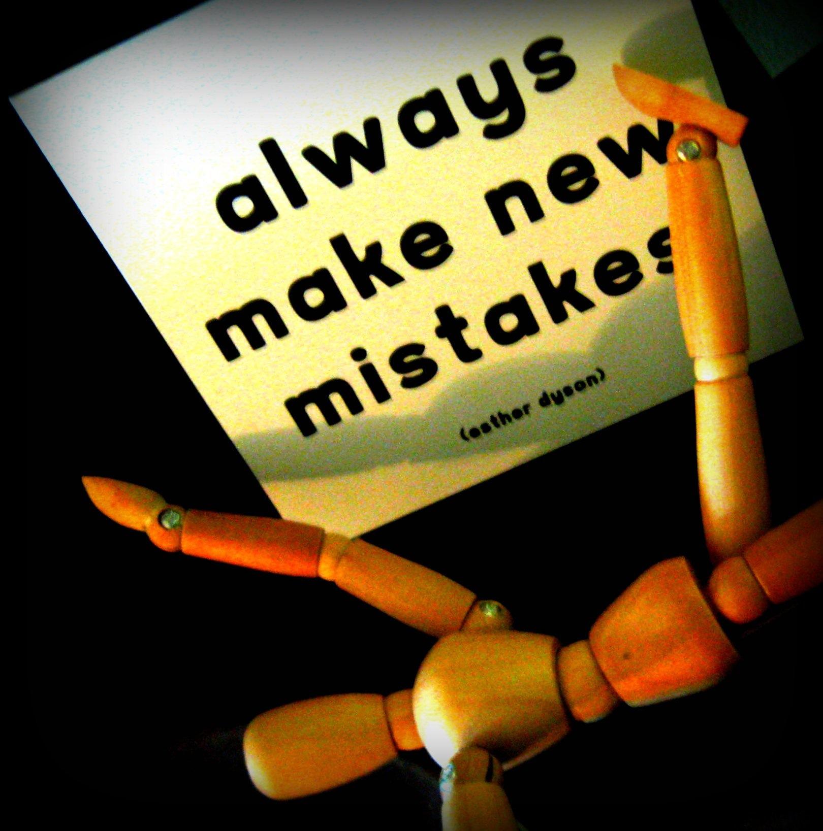Uvek napravi novu grešku - elycefeliz via Flickr (CC BY-NC-ND 2.0)
