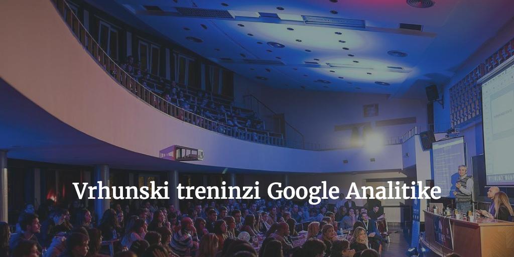 trening google analytics analitika