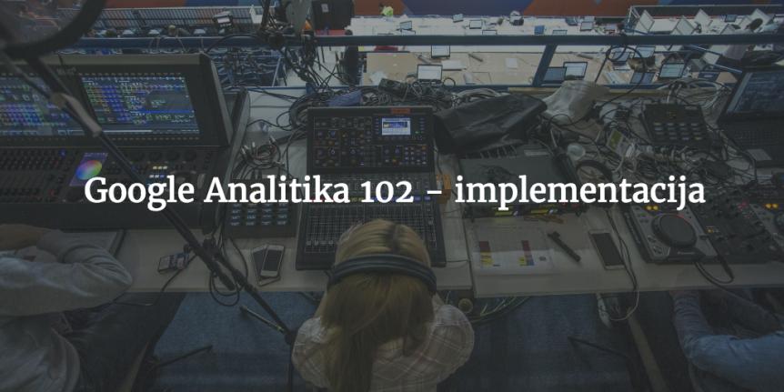 google analitika implementacija