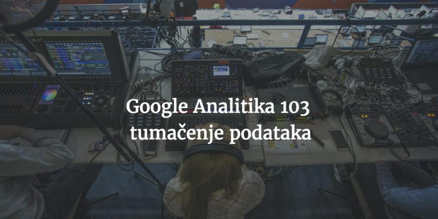 google analitika tumacenje podataka